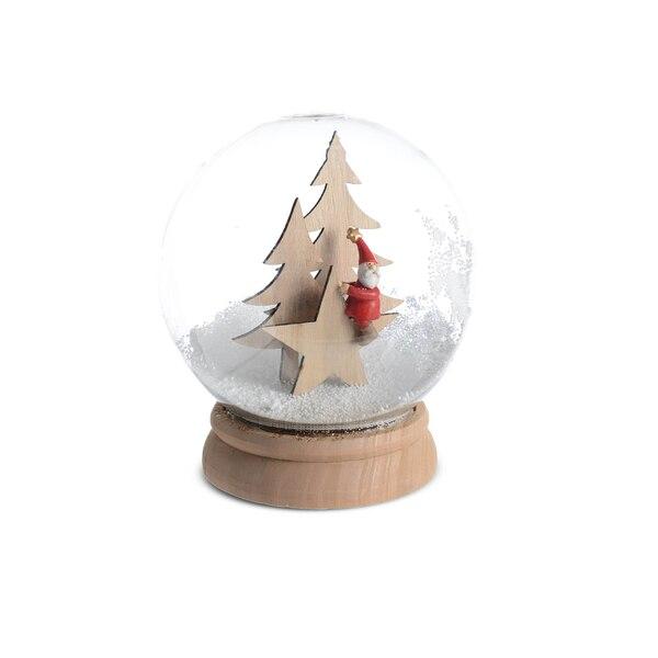 Schneekugel Nikolaus, natur