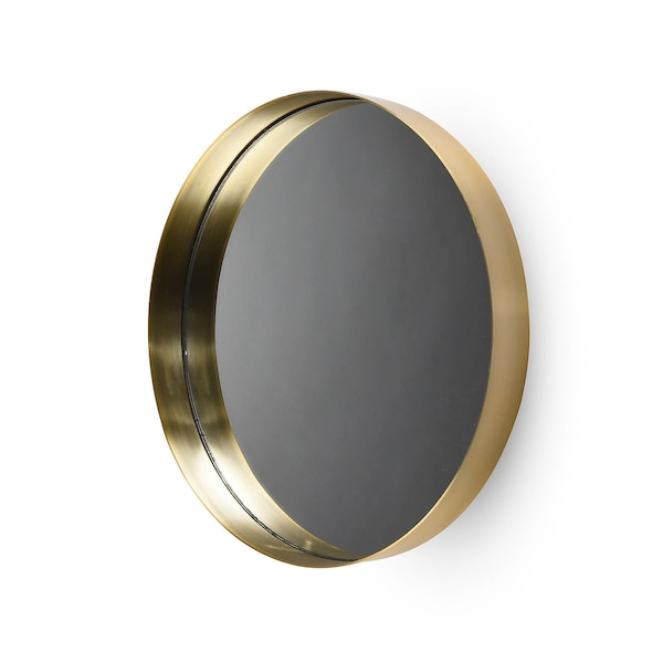 Plateau décoratif / Miroir à suspendre, D, champagne