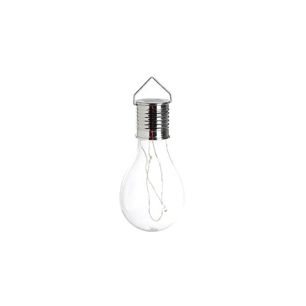 Solarleuchte Glühbirne, klar