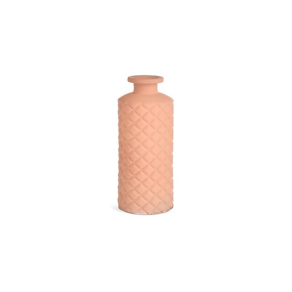 Vase Minibottle Raute , hellrosa