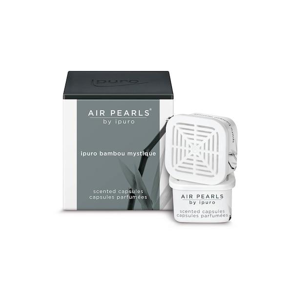 ipuro capsules parfumées Air Pearls, bambou mystique, incolore