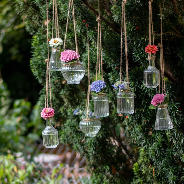 Vase Groove en verre, clair