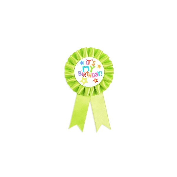 Badge Birthday, vert