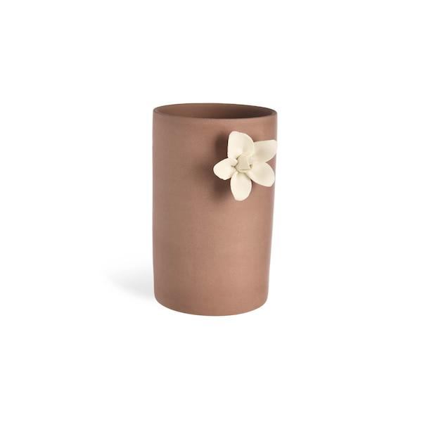 Vase Flower, dunkelflieder