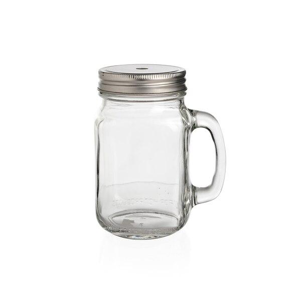 Trinkglas mit Griff, klar