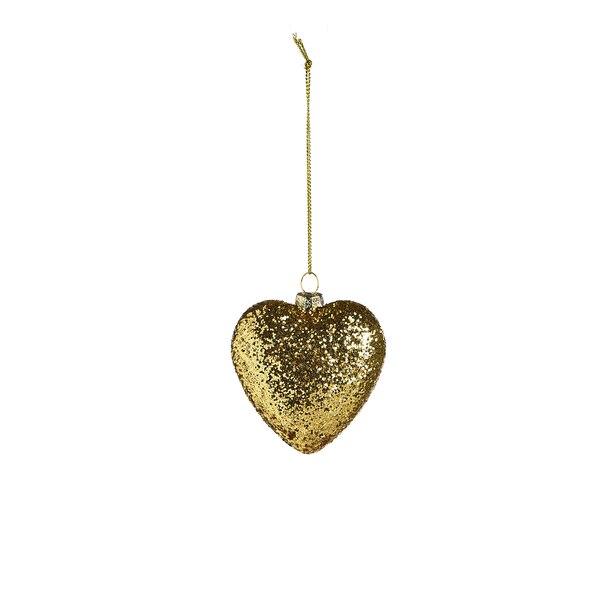 Anhänger Herz, gold