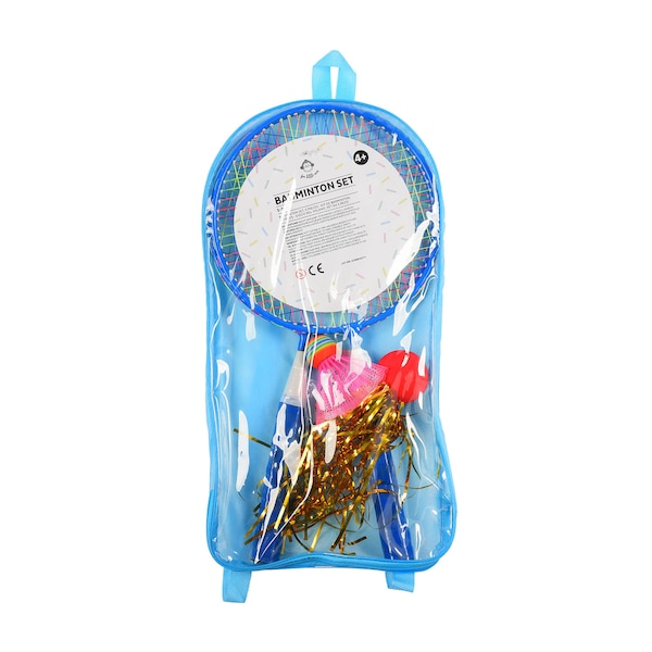 Badmintonset, 5-teilig, blau