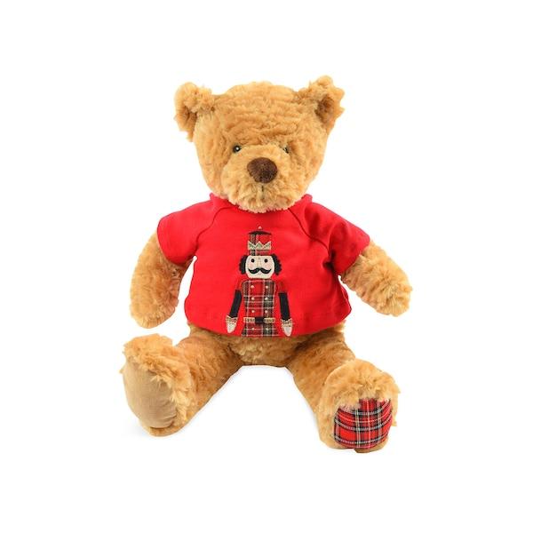 Stofftier Teddy, braun