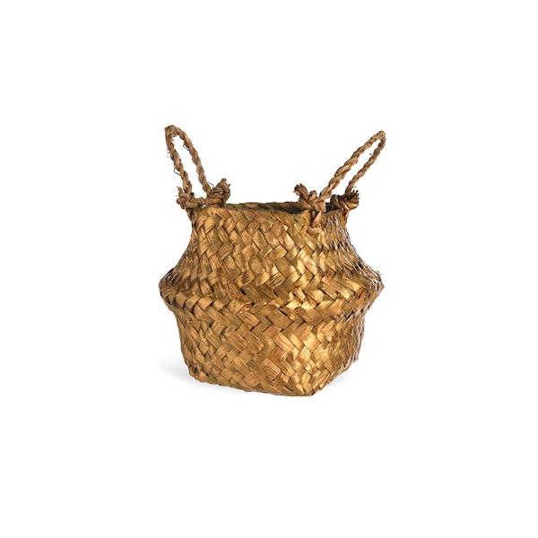 Mini-Korb, gold