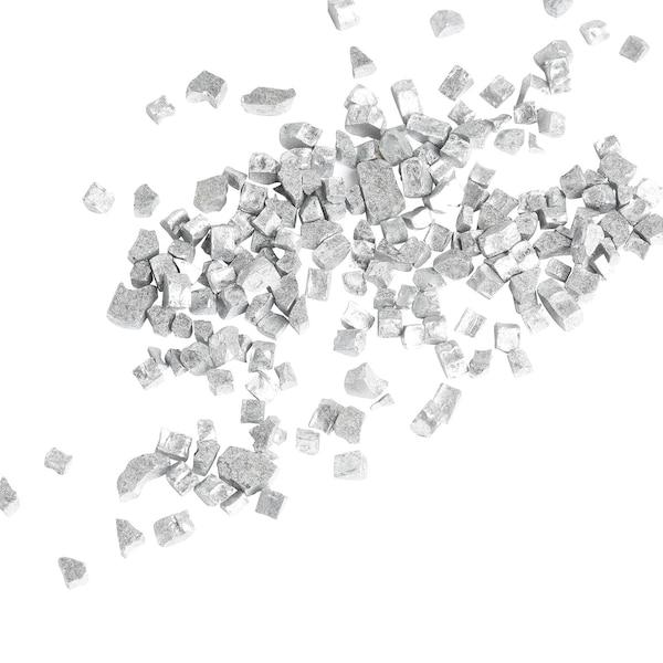 Granulat Glittersteine, silber