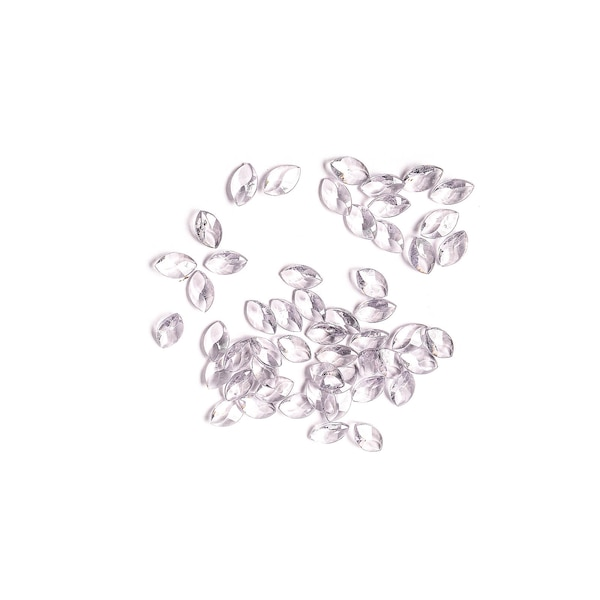 Streuartikel Diamanten oval, dunkelgrau