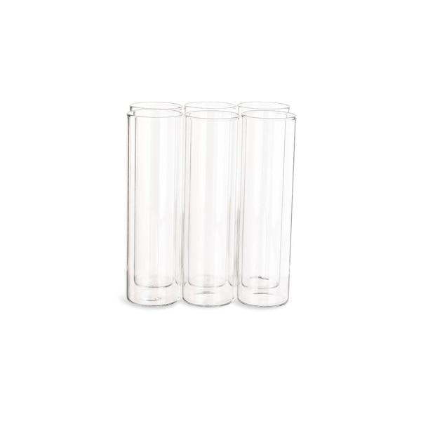 Vase verre tube à essai, clair