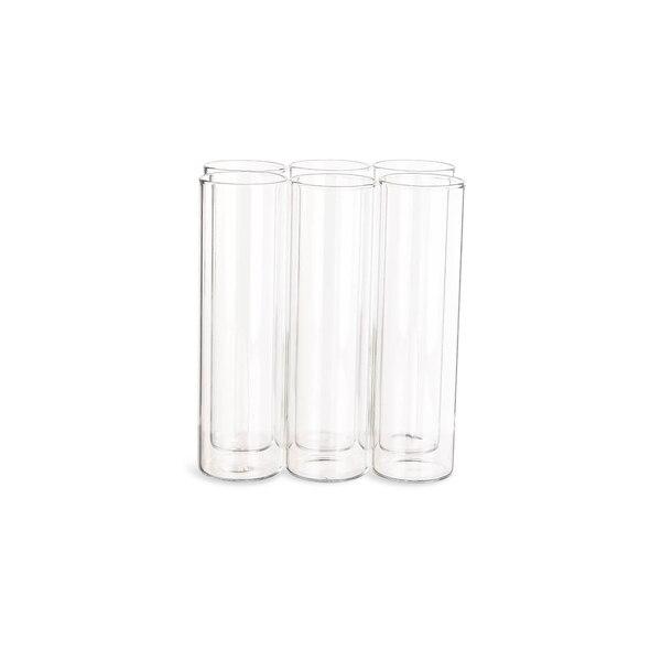 Vase Reagenzglas, klar