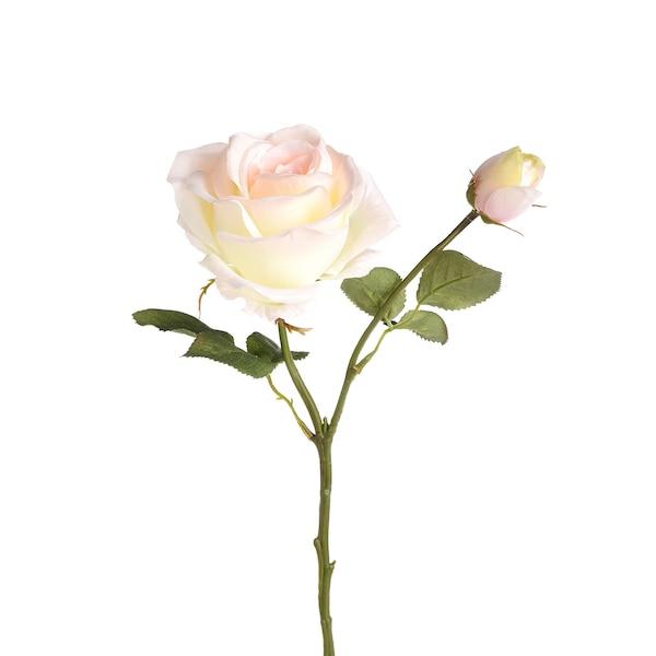 Kunstblume Rose, creme