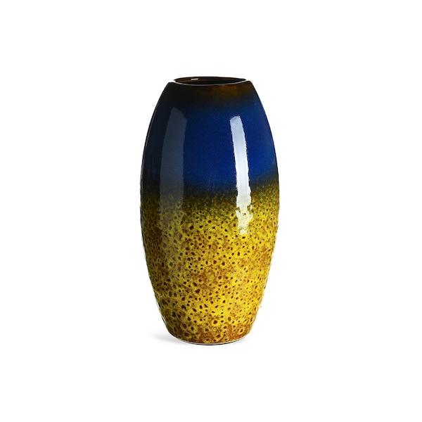 Vase, senfgelb