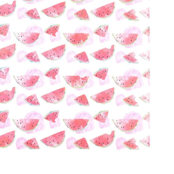 Kraftpapier Melonen, bunt