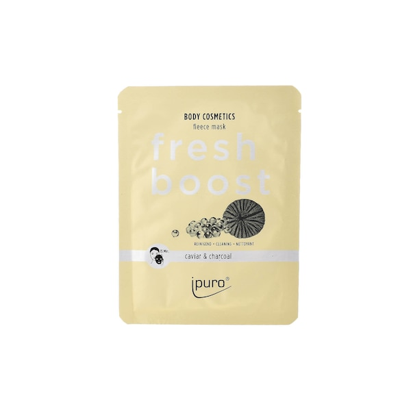 ipuro Body Cosmetics Fleece Mask, Fresh Boost, ohne Farbe