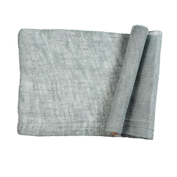 Dekostoff Jute, graugrün