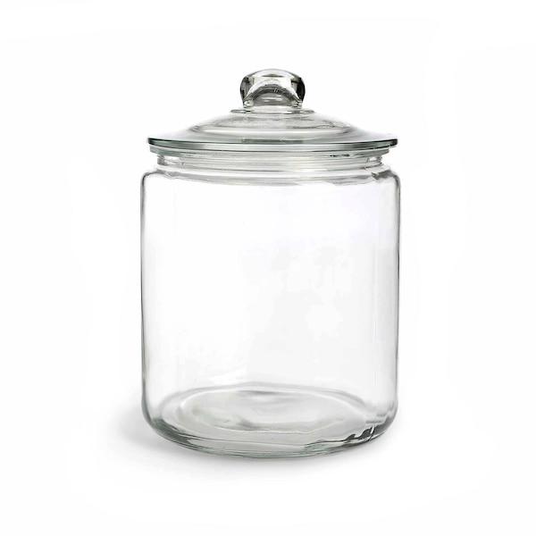 Bocal en verre, clair