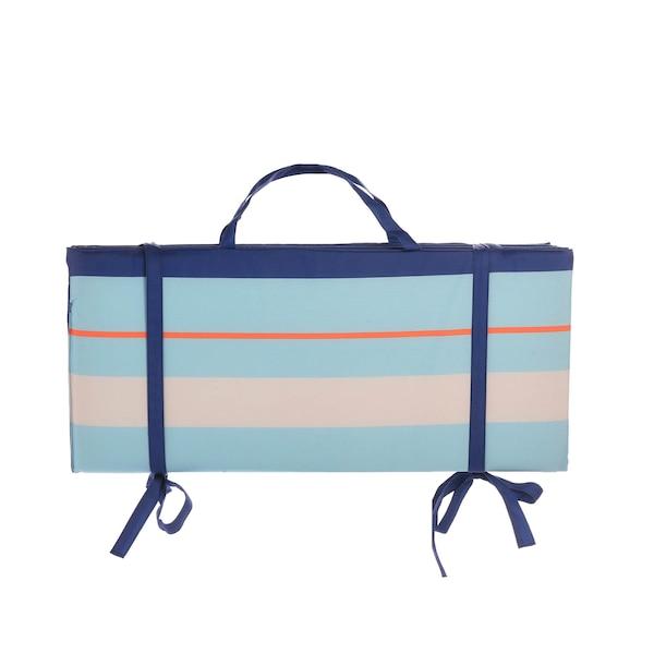Strandmatte, blau