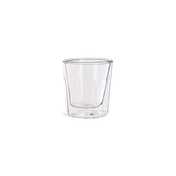 Thermo-Doppelwandglas, klar
